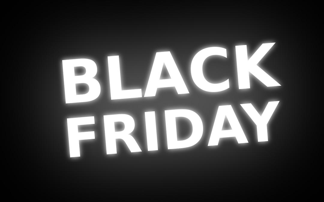 Ook wij doen mee aan Black Friday